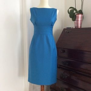 Blue J.Crew Petite 0 Dress